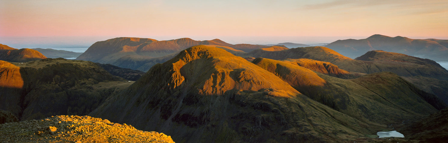 Scafell Pike Dawn
